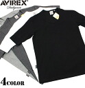 AVIREX-avirex daily wear U ネックハーフ sleeve t-shirt 4 colors definitely hurt is not the ultimate staple items one less ユーティリティーウェア
