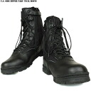 Brand new & is easy to サイドジッパータクティカル military boots black undress wear the biggest attraction full width made from the