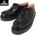 "There is GEORGE COX George Cox 3588 rubber sole Creeper Gibson black ""aesthetics"" in history please feel on your feet"