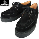 "There is GEORGE COX George Cox 3588 rubber sole Creeper-Gibson Black Suede ""aesthetics"" in history please feel on your feet"