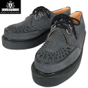 "a fs3gmGEORGE COX George Cox 3588 rubber sole Creeper-Gibson charcoal gray suede ""aesthetics"" in history please feel on your feet"