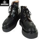 "the brand boasts a hugely popular around the world, beyond the fs3gmGEORGE COX George Cox 13327 rubber sole Creeper high cut black generation ""aesthetics"" in history please feel on your feet"