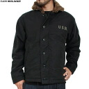 Brand new & U.S. n-1 deck jacket USED machined black zipper TALON's color and texture are out realistic texture