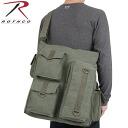 ROTHCO rothco VINTAGE MULTI POCKET Messenger bag olive 9124 enough outside pockets are equipped with functional and practical Messenger bag