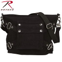 ROTHCO rothco vintage 1-POCKET shoulder bag black