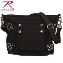 ROTHCO rothco vintage 1-POCKET shoulder bag black