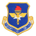can be attached to various items etc. fs3gm real new U.S. AIR EDUCATION TRAINING COMMAND patch jacket or shirt, served in your own custom