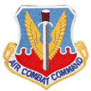 Can be attached to various items real brand new U.S. AIR COMBAT COMMAND patch # 1 with Velcro jackets and shirts, etc., served in your own custom