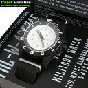 Watch TRASER tracer TYPE6 MIL-G Japan Limited Edition White U.S. Department of Defense established by current standards