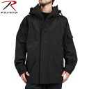 Faithfully ROTHCO Rothko U.S. Gen1-ECWCS parka BLACK military detail reproduction fashion to stylish dress.