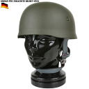 Faithfully reproduces the new Germany army WW2 paratrooper steel helmet real steel helmet and the weight of a heavy making