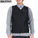 HOUSTON Houston 50086 n-1 デッキベスト n-1 NAVY deck jacket design source detail, texture, and quality intact.