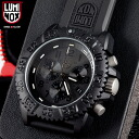 LUMINOX Luminox 3081 BLACKOUT NAVY SEALs a COLOR MARK CHRONOGRAPH SERIES watch Luminox in apparent popular focus classic series 3050 series with a chronograph based on