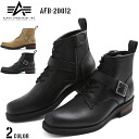 Only expected to inherit the ALPHA Alpha AFB-20012 side zipper buckle boots 2 colors AFB-20011 one foot required to be classic