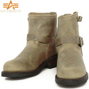 A light to the town Engineer Boots CRAZY use for ALPHA Alpha AF1946 SHORT ENGINEER BOOTS steel toe protection Engineer Boots toe became form and also of course equipped with authentic