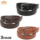 "fs3gmALPHA Alpha AL-BB020 plain leather belt 3 colour buckle until 'ALPHA INDUSTRIES Inc.""engraving everyday casual styles widely available"