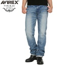 "With the tradition of AVIREX-avirex TYPE BLUE ""BING"" NARROW FIT denim pants WUSED WASH long-awaited denim TYPE BLUE Aviator will denim brand PERFUME sample"