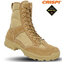 """""""Made in ITALY"""" with ideal conditions is CRISPI Krispy DESERT GTX SWAT tactical boots COYOTE comfortable, excellent movement, waterproof and high durability to meet boots GORE-TEX"""
