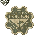 Can be attached to the product with a Velcro Panel CONDOR Condor 243 GEAR PATCH ( emblem ) TAN CAP, bag, jacket