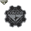 Can be attached to the product with a Velcro Panel CONDOR Condor 243 GEAR PATCH ( emblem ) BLACK CAP, bag, jacket