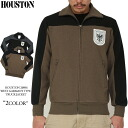 HOUSTON Houston 20896 WEST GERMANY track jacket West Germany military track jacket points 3 season wear design source アドラーロゴ badge and two tone color is our universal design