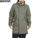 & Fs3gm HOUSTON Houston organized around the tight m-51 parka mods coat OLIVE m-51 parka mods coat slim fit model HOUSTON and WIP quantity limited monopoly sales model