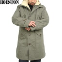 Reproduce the original HOUSTON Houston US Army m-47 Parker mods coat olive m-51 parka m-47 Parker
