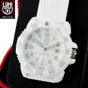 Luminox LUMINOX Luminox 3057 WHITEOUT SNOW PATROL COLOR MARK SERIES white pursued even becomes the first all white specs, day and night, keep the emission self light-emitting illumination system