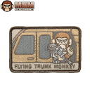 Any mil-spec monkey 10P13Dec14MIL-spec MONKEY mil-spec Monkey patches (patch ) FLYING TRUNK MONKEY DESERT joke patches in the most famous patch bag or jacket Velcro Panel of various available custom