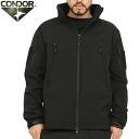 CONDOR 콘도 르 602 SUMMIT 전술 소프트 쉘 재킷 BLACK 블랙 가볍고 투 습 · 방수 폴 리 에스테 르 100% 소재