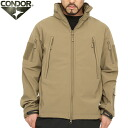 CONDOR 콘도 르 602 SUMMIT 전술 소프트 쉘 재킷 TAN 탄 경량 ・ 투 습 · 방수 폴 리 에스테 르 100% 소재