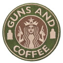 can be attached to items that have a Velcro Panel, such as fs3gmGUNS AND COFFEE patch (patch ) with Velcro GREEN, &TAN U.S. military delivery makers manufactured goods bags and soft shell