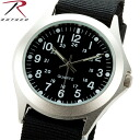 fs3gmROTHCO Rosco 4427 MILITARY STYLE QUARTZ WATCH BLACK metal case is sized belts are Nylon Lightweight arm feels great Board