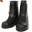 can is in wear on the fs3gm real West Germany army over rubber boots shoes, such as rain or snow, strong side zipper to ease putting on