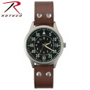 ROTHCO rothco military watches leather strap