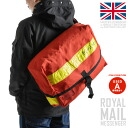 Real British Royal Mail ROYAL MAIL Messenger bag yellow reflector mens Womens military bag waterproof also everyday use leisure travel camp school bike motorcycle reflective material