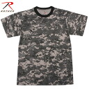 fs3gmROTHCO Rosco CAMOUFLAGE T shirt SUBDUED URBAN DIGITAL CAMO ROTHCO Inc. made the recommended as military camouflage T shirt デイリーウェアー