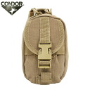 fs3gmCONDOR Condor MA45 i-POUCH (mobile pouch ) TAN accessories and cell phones, can accommodate small pouch MOLLE style vest or backpack free space can be installed