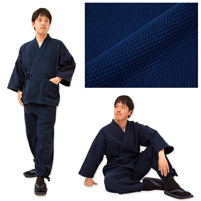 地厚刺子作務衣 イメージ