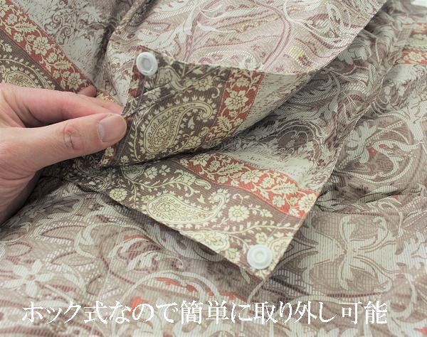 西川羽毛布団2枚合わせ
