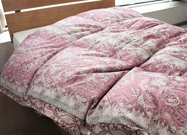 2枚合わせ羽毛布団の特徴