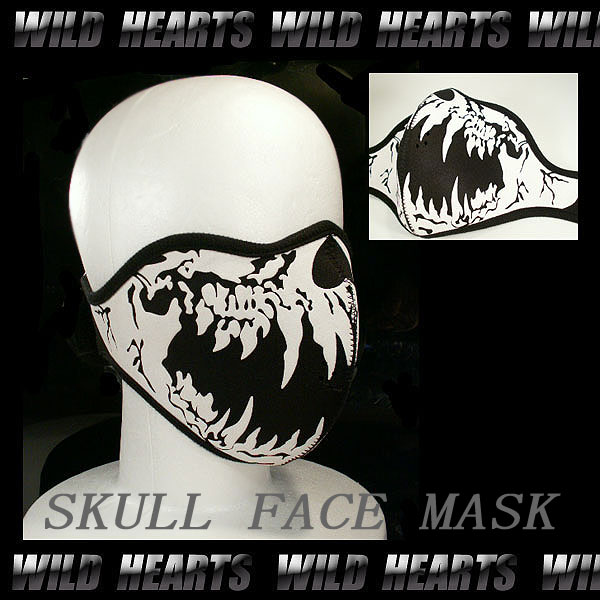 Winter Face Mask Skull Face Mask/skull Mask/winter