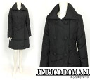 Down coat ☆ Enrico Domani - dione ☆ [fs04gm] of 50% of sale OFF ★ button decorations for winter