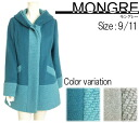 ★ Winter sale 30% off ★ try it on compatible products ★ ◆ Japan made ◆ ☆ ☆ hooded half-court Mongrel - Grand mountain t. ☆☆