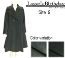 ★ Winter sale 50% off ★ ★ please try products ★ ◆ Japan made ◆ ラバーズバースディ - Chartres flared coat ☆ ☆ ☆ remains tailored ☆