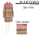★◆☆☆ knit coat ☆ M.&KYOKO made in new product ★ try-on correspondence product ★◆ Japan for autumn☆