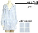★ Spring new product ★ try it on compatible products ★ ☆ lattice pattern spring coat world ☆☆☆