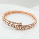 1 AR by UNOAERRE unoaerre 3 consecutive bracelet pink gold color