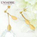 Unoaerre K18 18kt yellow gold earrings fs3gm