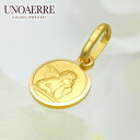 Unoaerre K18 yellow gold pendant fs3gm